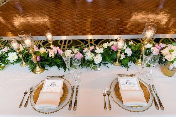 Dahnke Ballroom Head Table